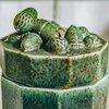 Acorn Swedish Earthenware Jar Moss