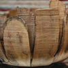 Large Driftwood Petal Bowl detail