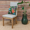 St James Deconstructed Oak Dining Chair (cushion not included)