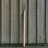 Two-Tine Weeding Fork with Shaped Handle
