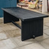 Alexi Black 240cm Reclaimed Teak Rectangular Dining Table