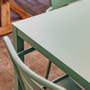 Sage Green Aria Dining Set with Mya Chairs