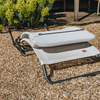 Samba Rocker Lounger Sun Chair White/Beige