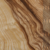 Wooden Cover B5 Notebook, Olive Ash Burr (detail of veneer figuring)