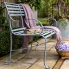 2-seater Antique Finish Garden Bench with back