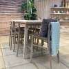 Dennis Reclaimed Teak Garden Bar Table