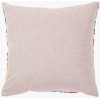 Daphne Square Embroidered Cushion reverse