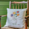 Picasso Fleurs et Mains Tapestry Cushion