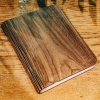 Wooden Folding Book Light Walnut Large