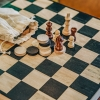 Chess and Draughts Game (detail