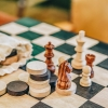 Chess and Draughts Set (detail)