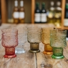 Small Coloured Glass Goblets