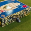 AW20,Christian Lacroix Maison de Jeu Playing Cards,Playing Cards,christian lacroix playing cards,two decks of christian lacroix playing cards,christian lacroix cards,designer playing cards,maison de jeu design cards,christian lacroix,stylish playing cards, detail of box