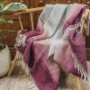 Burford Ombre Throw Rosewood