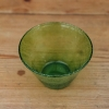 Coloured Small Glass Bowls - olive detail