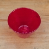 Coloured Small Glass Bowls - red detail