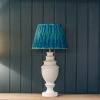 Pooky Straight Empire Shade Teal Ikat by Matthew Williamson