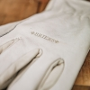 Ultimate Lined Leather Gardening Gloves, detail