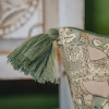 Haathi Ivy Cushion, detail of tassel