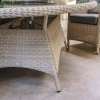 Chadlington Elliptical Set - extendable table detail