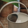 Grey Metal Watering Can, Small, detail