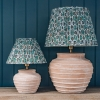Ambrose Table Lamps in Terracotta
