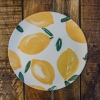 Bamboo Sicilian Summer Dinner Plate - Lemon