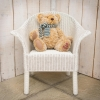 Lloyd Loom Classic Child's Armchair White
