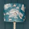 Drum Lampshade in Maude Smith Flappity Birds Print (35cm)
