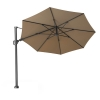 Challenger Taupe Round Free Arm Parasol