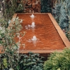 Corten Steel Water Feature, Long