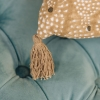 Star Cushion Dusk - Tassel Detail