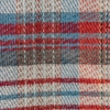 All Wool Picnic Throw - Red Swatch Detail