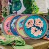 Large Blue Garden Placemats from Lisa Corti