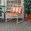 Lido Garden Chair Orange (cushion not included but online)