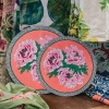 Large Blue Garden Placemats (differences in size detail)