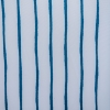 Travel Lounger - Blue and white Stripe Swatch Detail