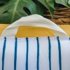 Travel Loungers - in Mustard and Blue - Handle Detail