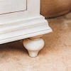 Classic Carved Mango Wood Sideboard - Detail of Feet