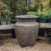 Green Round Volcano Pots (Lipped) - Extra Large