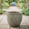 Green Round Volcano Pots - Large