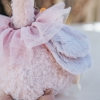 Ostrich Rag Doll, detail of wings