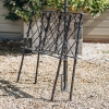 Rustic Rose Arch - Adjustable Stand Supports