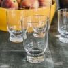Ottolenghi Feast Glasses in Stripes Sandblasted and Gold