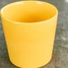 Coffee Cup in Sunny Yellow