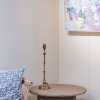 Chukka Table Lamp in Antiquated Brass -  No Shade