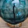 Green Glass Donna Table Lamp - Detail