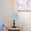 Tiano Table Lamp in Blue - Shade Not Included