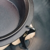 Dutch Oven with Lid and Stand - Detail