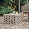 Puzzle Coffee Table in Natural Grey - Large